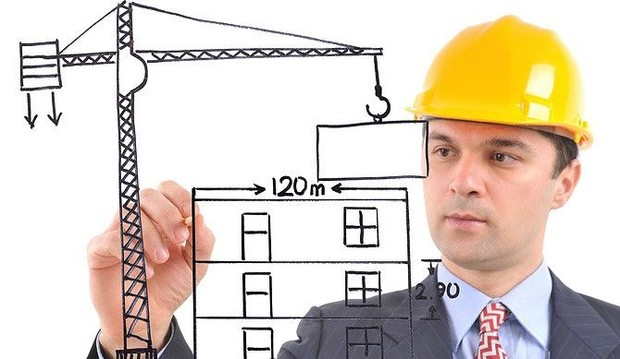 В январе стройпредприятия сократили объемы работ на 37%