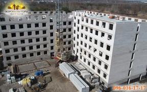 В ЖК «Воробьевы горы-7» построен уже шестой этаж!