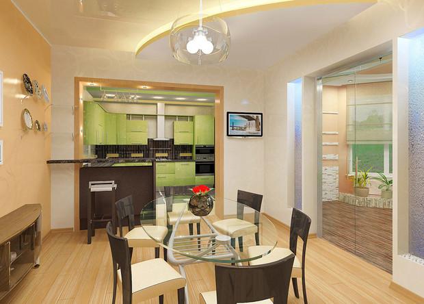 Варианты перепланировки двухкомнатной квартиры хрущевки