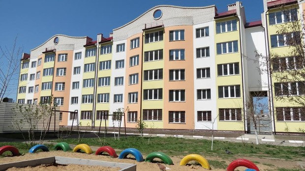 Ведущим застройщиком г.Херсона АО «МЖК» продолжается строительство двух новых жилых домов в 4-м Таврическом микрорайоне