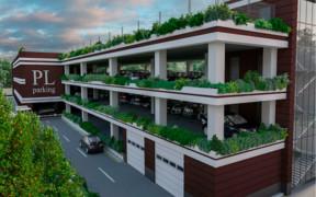 Ведутся работы по строительству многоуровневого паркинга в ЖК Park Land