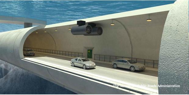 Видео: В Норвегии хотят построить плавучие подводные автобаны