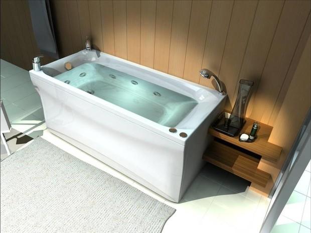 Выбираем ванну: чугунная, акриловая или стальная