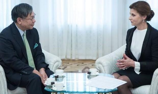 Япония поможет восстановить Донбасс