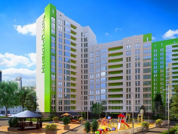 Залита первая фундаментная плита жилого комплекса «Нивки-Парк»