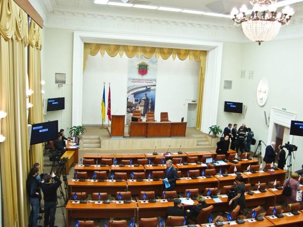 Заседание городского совета в Запорожье: конкуренция в ЖКХ и вопросы Генплана