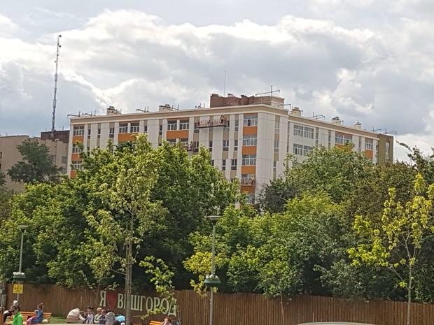 Завершающий этап строительства клубного дома FORT HOUSE
