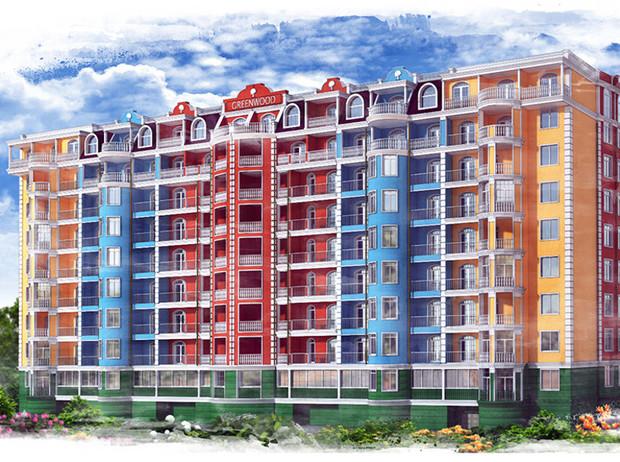 Жилой комплекс «Акварель» ожидает новых жильцов!