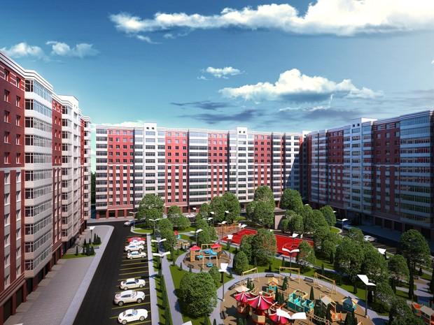 """Жилой комплекс """"Днепровская Брама"""" демонстрирует этапы возведения здания"""
