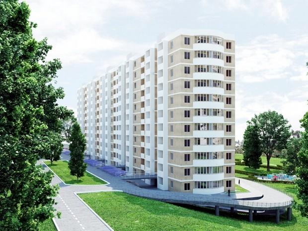 Жилой комплекс «Пихтовый», г. Днепропетровск, готовится к сдаче первой очереди