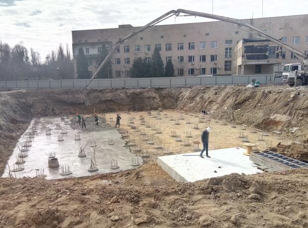 ЖК «Теремки»: продолжаются фундаментные работы на I-й очереди комплекса