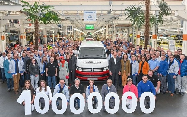 10-мільйонний автомобіль зійшов з конвеєра в Ганновері