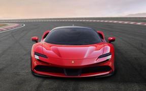 1000 л.с. и полный привод. Представлен новый гиперкар Ferrari