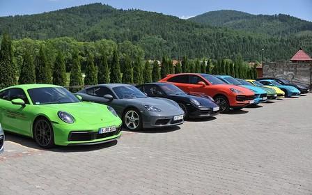 11-12 червня відбувся Porsche road tour в Порше Центр Львів