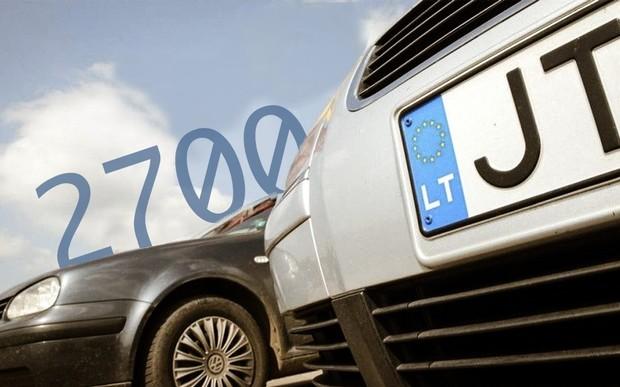 2700 машин за один день: «евробляхи» бьют рекорды