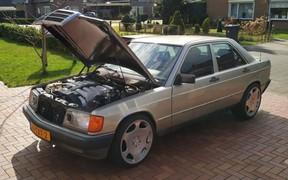 36-летний Mercedes получил V12 и 429 л.с. Куда вошли? ВИДЕО