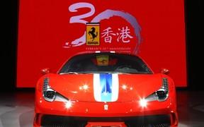 600 Ferrari отпраздновали 30-летие марки в Гонконге