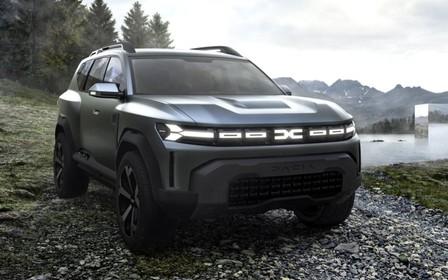7-местный кроссовер Dacia рассекречен на патентных изображениях