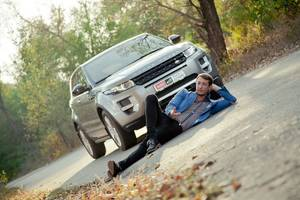 Тест-драйв Range Rover Evoque от дизайнера McLaren