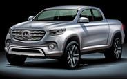 Первый пикап Mercedes будет сделан Ниссаном