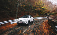 Тест-драйв Toyota C-HR 1.2 Turbo