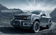Ford Bronco будет пятидверным: Опубликованы первые рендеры внедорожника