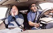 Наскільки страшний водій авто на єврономерах?