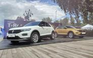 Как новый Volkswagen T-Roc официально представили в Украине