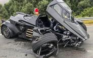 Блогер разбил «Бэтмобиль» за $1,2 миллиона. При первой поездке!