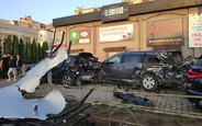 20-летняя украинская модель устроила массовую аварию под ночным клубом. ВИДЕО