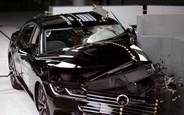 Сглазили! Volkswagen Arteon не получил высшую оценку на краш-тестах из-за фар. ВИДЕО