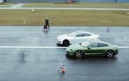 Хватит разговоров! Дуэль Porsche Taycan против Tesla Model S. ВИДЕО