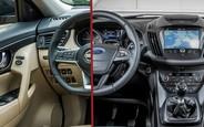 Что выбрать? Ford Kuga или Nissan X-Trail