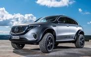 Из князи — в грязи. Электрический Mercedes-Benz EQC подготовили к бездорожью