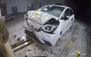 Новий Honda Jazz розбили на п'ятірку. Як все пройшло? ВІДЕО