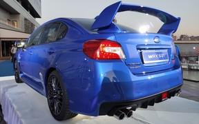 Актуальное поколение Subaru WRX STI можно увидеть в Киеве вживую