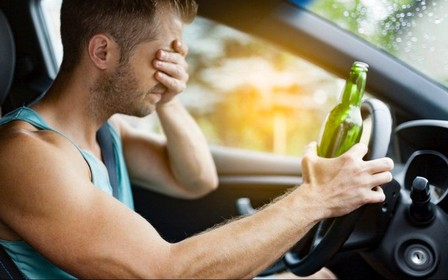Алкоголь за кермом – кримінал. Набули чинності зміни до законодавства
