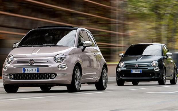Ассортимент Fiat 500 пополняется версиями Star и Rockstar