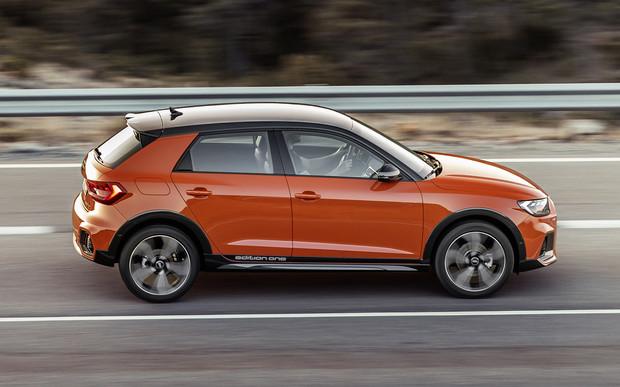 Audi A1 Citycarver: городской хэтчбек в болотном камуфляже
