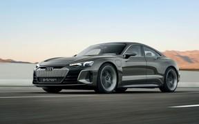 Audi e-tron GT Conzept - третій передсерійний