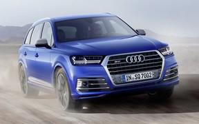 Audi представила «заряженный» SQ7 с электрическим наддувом