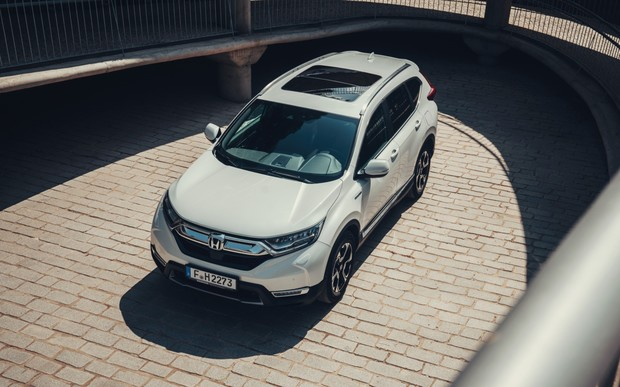 Автомобиль недели. Honda CR-V Hybrid