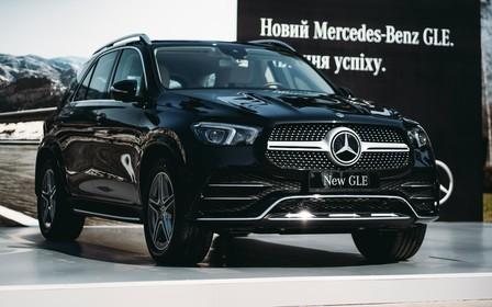 Автомобіль тижня. Mercedes-Benz GLE прилетів
