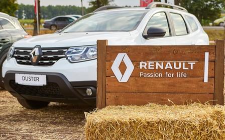 Автомобілі Renault підкорюють поля України