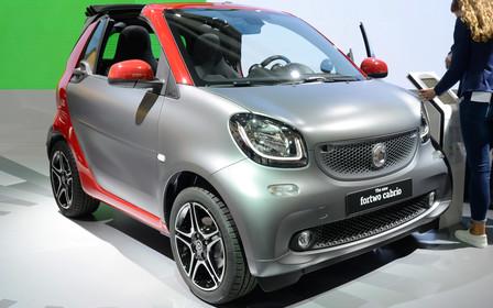 Автосалон во Франкфурте 2015: Smart ForTwo теперь без крыши