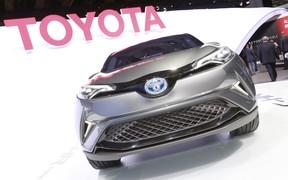 Автосалон во Франкфурте 2015: Toyota готовит конкурента Nissan Juke
