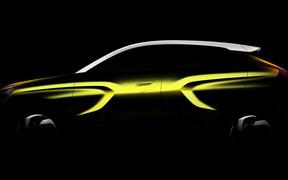 АвтоВАЗ показал профиль нового кроссовера XCODE