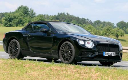 Bentley уже тестирует новый кабриолет