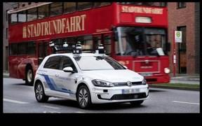 Безпілотники від Volkswagen: на дорогах німеччини тестують модифіковані електрокари