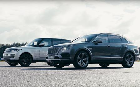 Битва титанов: Range Rover сразился с Bentley Bentayga